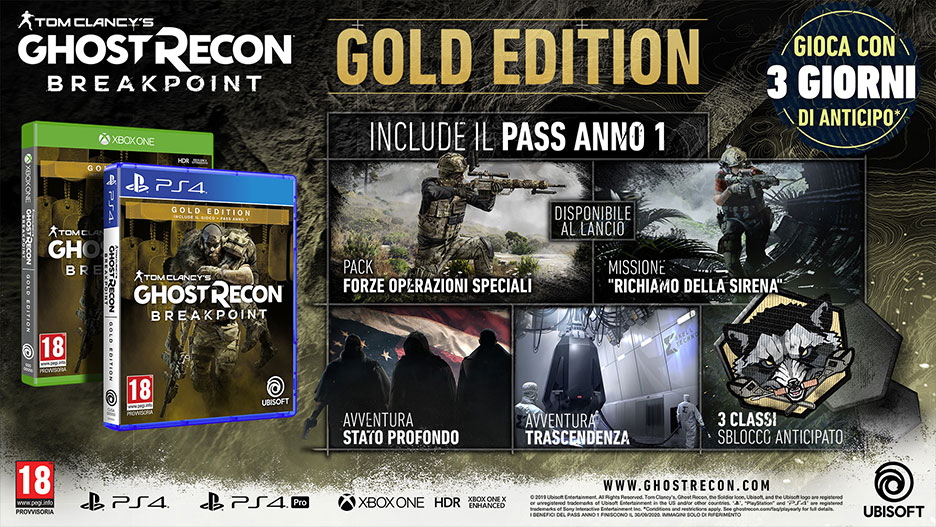 Ghost Recon - Breakpoint - Gold edition
