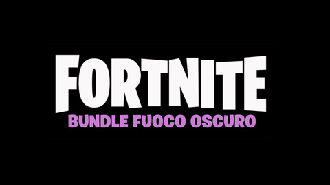 Fortnite Bundle Fuoco Oscuro