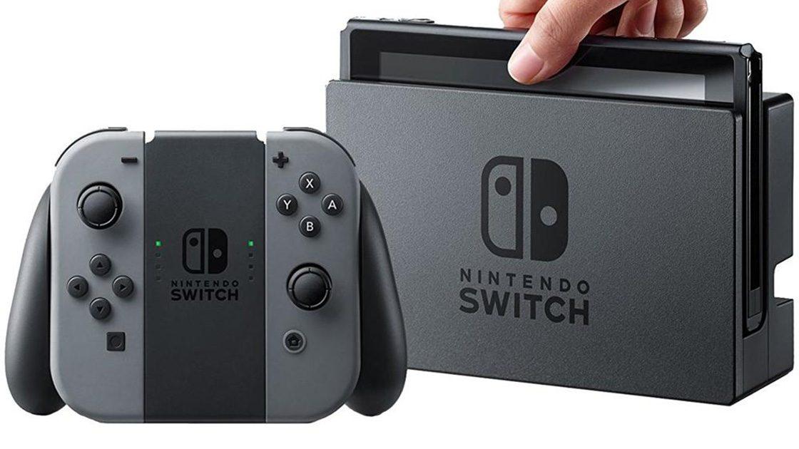 Nintendo Switch – versione grigia