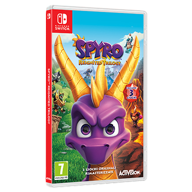 Spyro Trilogy Switch