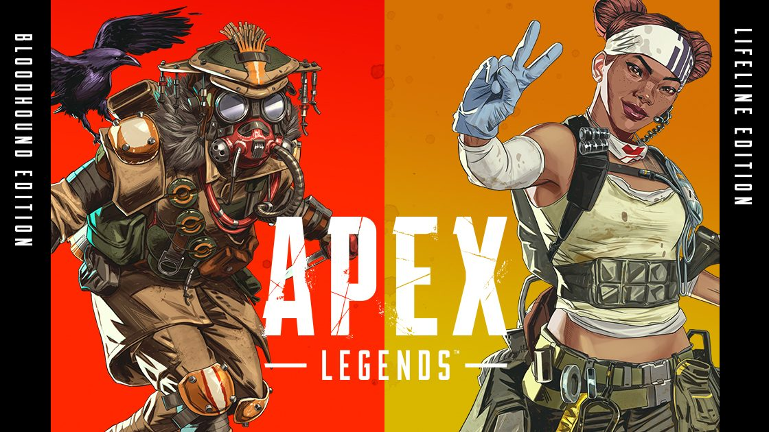 Apex Legends Bloodhound & Lifeline Edition