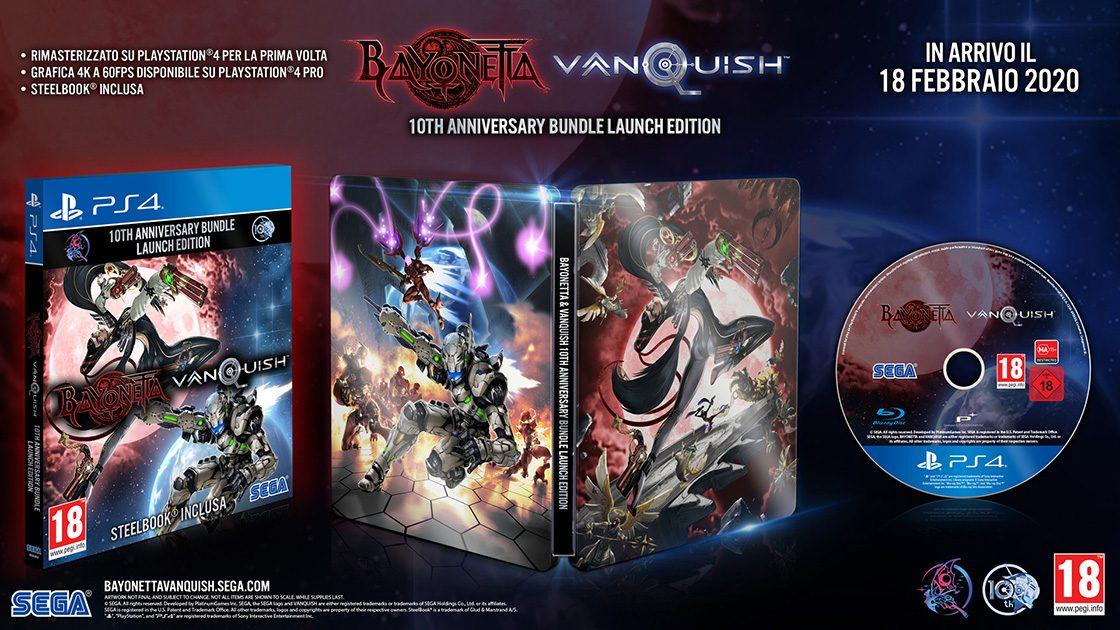 Bayonetta & Vanquish 10th Anniversary Bundle Launch Ed.