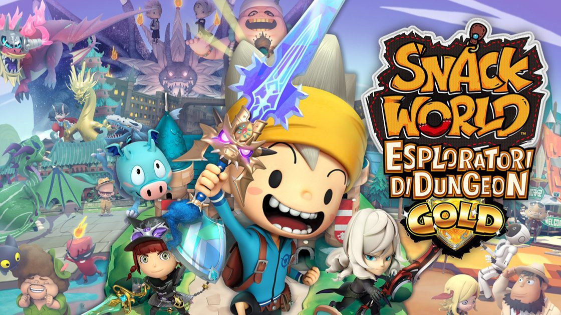 Snack World: esploratori di Dungeon – Gold