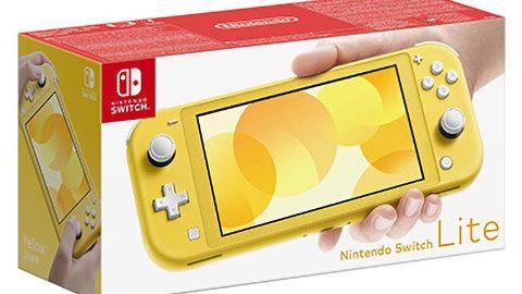 Nintendo Switch Lite – versione gialla