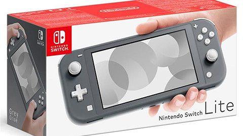 Nintendo Switch Lite – versione grigia