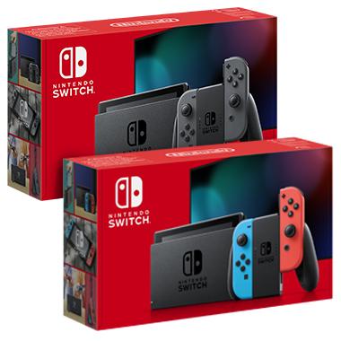 Nintendo Switch – versione blu e rosso neon