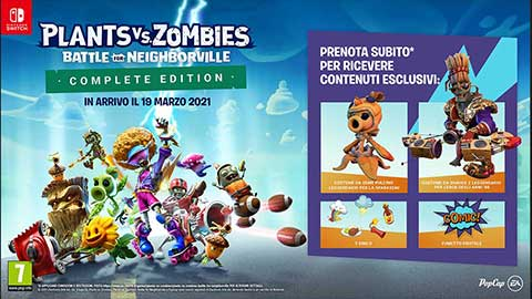 Plants vs. Zombies™: Battle for Neighborville Edizione Completa